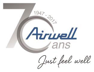 Airwell catalogue 2017 70ans