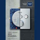Grohe : le catalogue 2018 est disponible